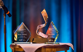 UNVEILING THE THREE FINALISTS FOR THE PRIZE OF THE YEAR CEO OF INVESTISSEMENT QUÉBEC IN 2016