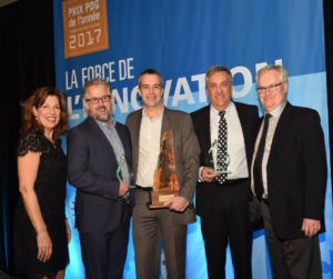 Prix PDG de l'année 2017 : Louis Roy remporte les honneurs