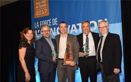 Prix PDG de l'année Investissement Québec2017: Louis Roy de groupe Optel remporte les honneurs