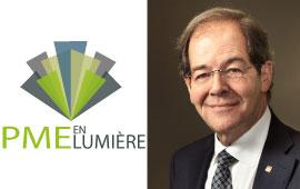 Serge Godin devient président d'honneur de la deuxième édition du concours PME en lumière