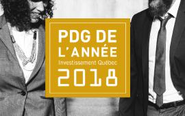 APPEL DE CANDIDATURES - Édition 2018 du Prix PDG de l'année Investissement Québec