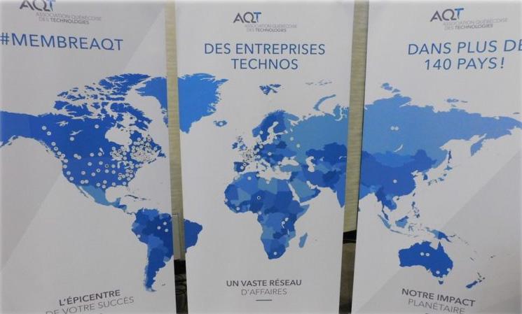 Carte monde membres AQT